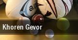 Khoren Gevor tickets