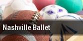 Nashville Ballet tickets