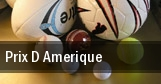 Prix D amerique tickets