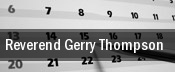 Reverend Gerry Thompson tickets