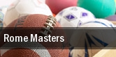 Rome Masters tickets