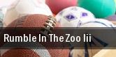 Rumble In The Zoo III tickets