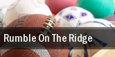 Rumble On The Ridge tickets