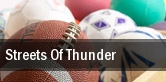 Streets Of Thunder tickets
