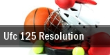 UFC 125 Resolution tickets