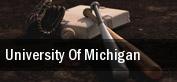 University of Michigan tickets