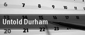 Untold Durham tickets