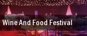 Wine and Food Festival tickets