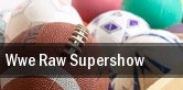 WWE Raw Supershow tickets
