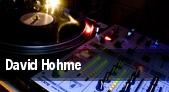 David Hohme tickets