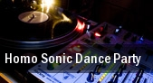 Homo Sonic Dance Party Washington tickets