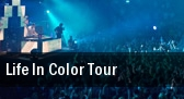 Life In Color Tour Arkansas Music Pavilion tickets