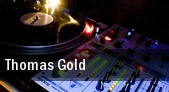 Thomas Gold New York tickets