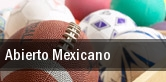 Abierto Mexicano tickets