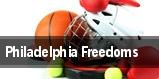 Philadelphia Freedoms tickets
