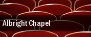 Albright Chapel tickets