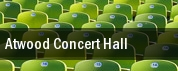Atwood Concert Hall tickets