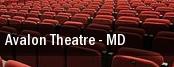 Avalon Theatre tickets