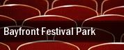 Bayfront Festival Park tickets