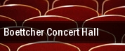 Boettcher Concert Hall tickets