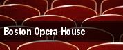 Boston Opera House tickets