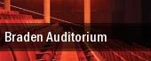 Braden Auditorium tickets