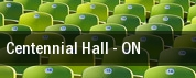 Centennial Hall tickets