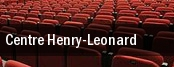 Centre Henry tickets