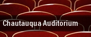Chautauqua Auditorium tickets