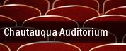 Chautauqua Auditorium tickets
