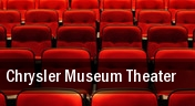 Chrysler Museum Theater tickets