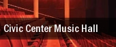 Civic Center Music Hall tickets