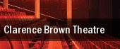 Clarence Brown Theatre tickets
