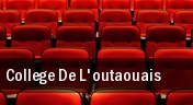 College De L'outaouais tickets