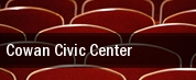 Cowan Civic Center tickets