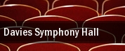 Davies Symphony Hall tickets