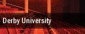 Derby University tickets