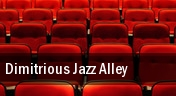 Dimitrious Jazz Alley tickets