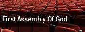 First Assembly of God tickets