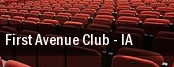 First Avenue Club tickets