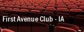 First Avenue Club tickets