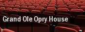 Grand Ole Opry House tickets