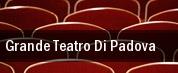 Grande Teatro di Padova tickets