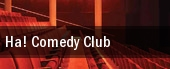Ha! Comedy Club tickets