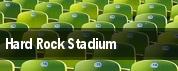 Hard Rock Stadium tickets