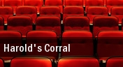 Harold's Corral tickets