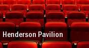 Henderson Pavilion tickets