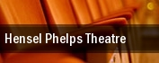 Hensel Phelps Theatre tickets