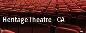 Heritage Theatre tickets