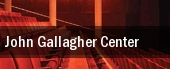 John Gallagher Center tickets